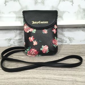 JUICY COUTURE Floral cross body purse
